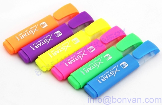 promotional fluorescent marker pen