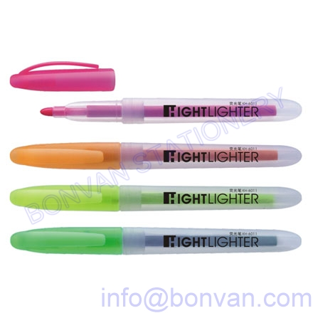 transparent body highlighter marker