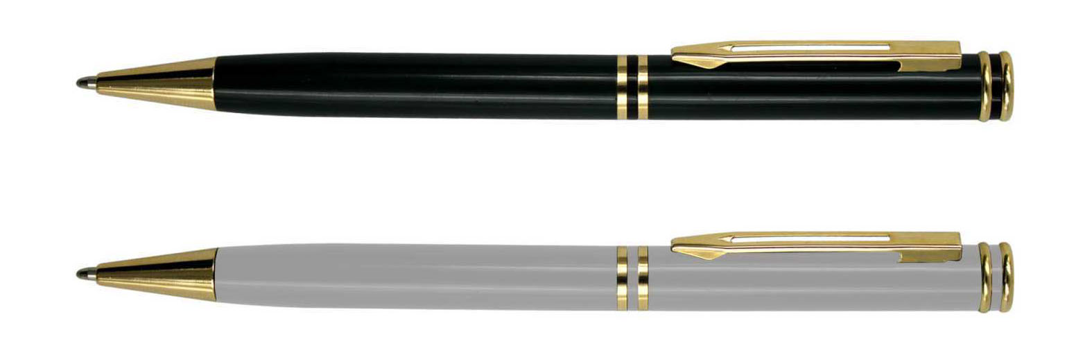 golden part Corporate souvenir metal ballpoint pen