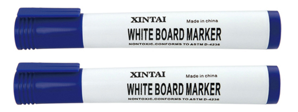 whiteboard marker with clip for carton marking use