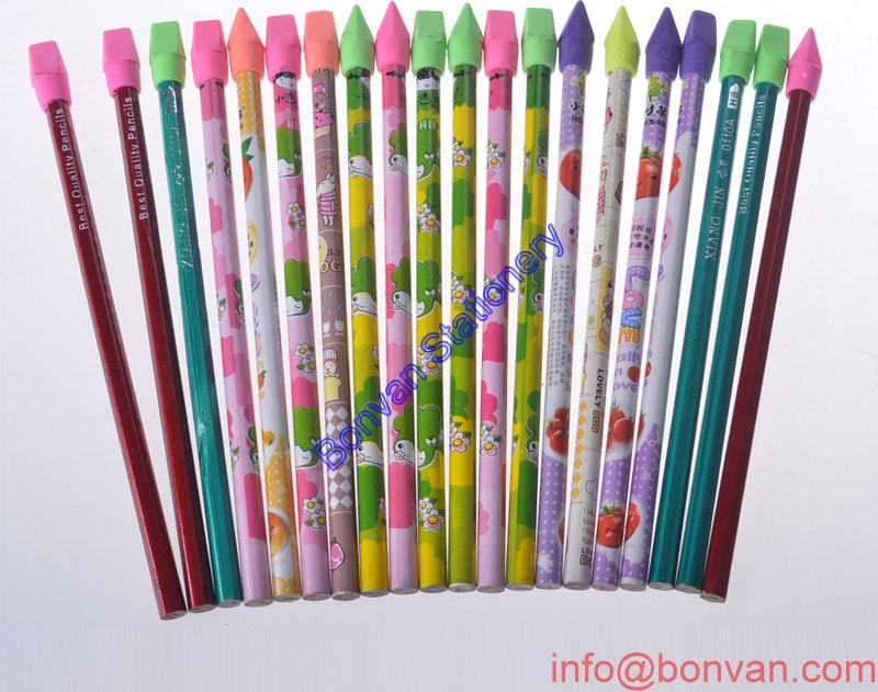 Full color printed promotional gift pencil